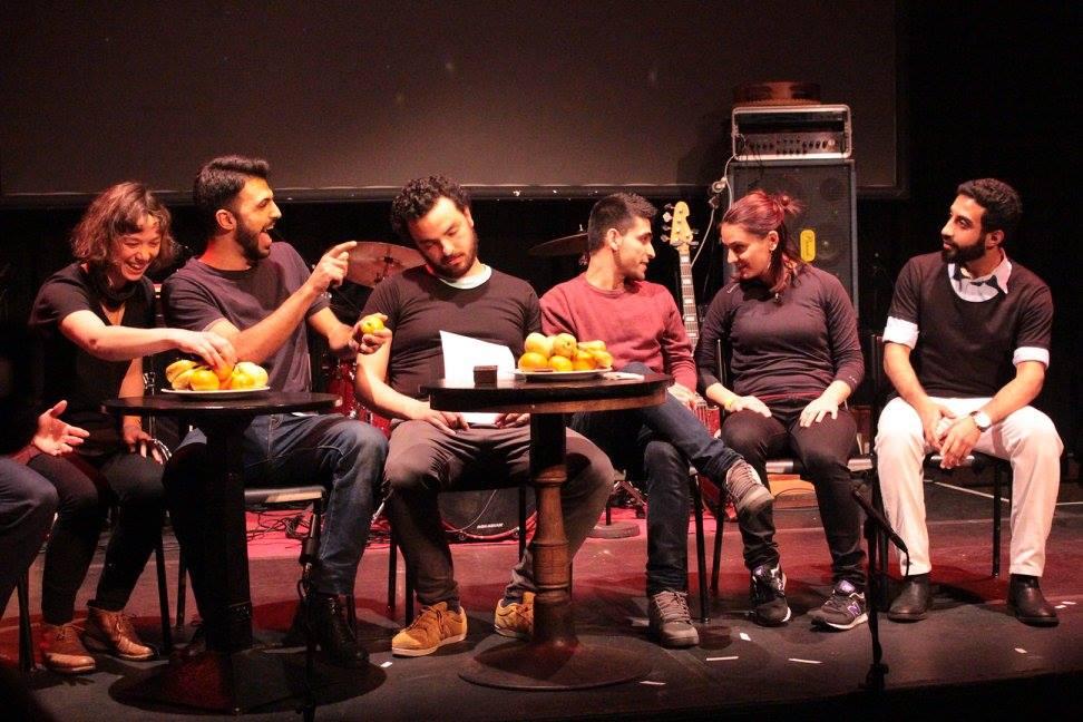 Read more about the article Flüchtlinge auf der Bühne